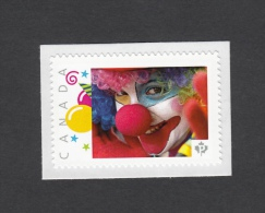 Promo  CLOWN, PAYASO,  Picture Postage MNH Stamp, Canada 2014 [p5sn5/3] - Other