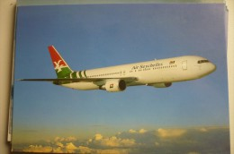 AIRLINES ISSUE / CARTE COMPAGNIE       AIR SEYCHELLES   B 767 - 1946-....: Ere Moderne