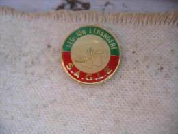 Pin´s SAGLE, Légion Etrangere - Militaria