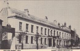 BARNET - RED LION 1880'S. REPRINT - London Suburbs