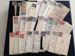 30-tal Kleine Envellopjes - Postwaardestukken