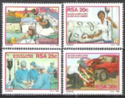 Südafrika South Africa RSA 1986 Medizin Gesundheit Blutspenden Transfusionen Operationen Blood-Donor, Mi. 682-5 ** - Südafrika (1961-...)