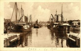 N°6963A -cpa Caen -le Port- - Commerce