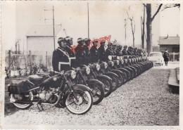 Années 50 Police Moto BMW ? Ratier ? Beau Format 13 Par 18 Cm - Automobiles