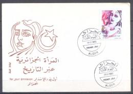 Algérie FDC Enveloppe Premier Jour YT N°1013 Journée Internationale De La Femme - Algérie (1962-...)