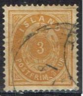 Islande Yvert  N° 12A - Oblitérés