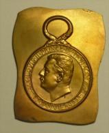 """Monaco Médaille Bronze / Medal  """""""" HONNEUR Du TRAVAIL """""""" LOUIS II 1923 épreuve TRIAL - RARE !!! - Other Countries"""