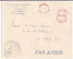 Lettre Congo Brazzaville 1964 ( Office Des Anciens Combattants Et Victimes De Guerre De La République Du Congo - Kongo - Brazzaville