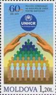 Moldova Moldawien 2011 MNH ** Mi. Nr. 776 60th Aniv. Of UNHCR - Moldavië