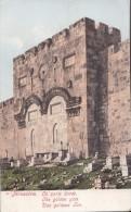 POSTCARD THE GOLDEN GATE JERUSALEM - Israel