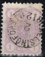 Finlande - 1875 - Y&T N° 18 A, Dentelé 11, Oblitéré - 1856-1917 Administration Russe