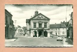 02 - AISNE - BLERANCOURT - LA MAIRIE - LA FONTAINE - RENAULT 4 CV - - France