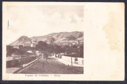 ALCOY (ALICANTE) PUENTE DE CRISTINA  - C.LAPORTA  - ORIGINAL PRIMEROS DEL SIGLO PASADO. MUY ESCASA - Alicante