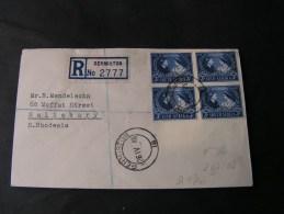 == South Africa Silver Wedding  FDC ??  1948 R-Germiston - Südafrika (...-1961)