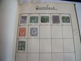 Timbres  De Collection Queensland  Lot  Oblitérés - Non Classés