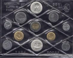 PIA - ITALIA - 1988 : Serie Monete Divisionale - Edizione Zecca -   9.000  Serie  !!!!!!! - 1946-… : Repubblica
