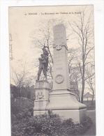 Denain Monument Carte Allemande 1° Weltkrieg Feldpost - Denain