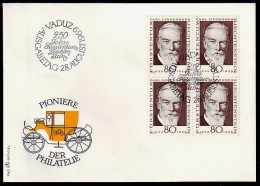 Liechtenstein 1969 - Carl Lindenberg - FDC MiNr 512** - Liechtenstein