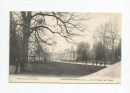 Cp , 78 , PONTCHARTRAIN , Cour D'honneur Du Château , écrite 1910 , Ed : Liva - Other Municipalities