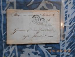 ZZ_27_ Lettre De Metz De 1852,a Voir!!verso!! - 1849-1876: Période Classique
