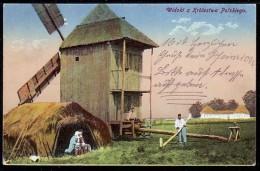 Polen Polska - Mühle Mill Molen - Feldpost - Moulins à Vent