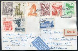 1962 VjesnikZagreb Postcard Express Airmail - Germany - Covers & Documents