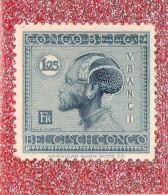 CONGO  BELGE   --  V.B.A.N.G.I. --  ARTISANAT  ET  INDUSTRIE  -- ** 1 25. ** POSTE 1927 --  NEUF SANS TRACE DE CHARNIERE - 1923-44: Mint/hinged
