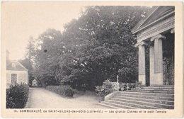 44. Communauté De SAINT-GILDAS-DES-BOIS. Les Grands Chênes Et Le Petit Temple. 19 - Frankreich