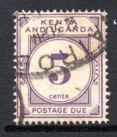 Kenya, Uganda & Tanganyika 1928 Postage Dues - 5c Violet Used - Kenya, Uganda & Tanganyika