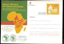Portugal & Inteiro Postal, Banco Africano De Desenvolvimento, Lisboa 2011 (14) - Africa (Other)