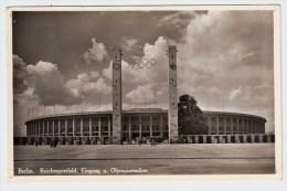 Olympiade 1936, Eingang Stadion,  # 1656 - Summer 1936: Berlin