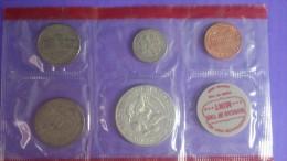 EE.UU. USA SET 1969 DENVER PLATA SILVER - Colecciones