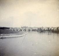 France Toulouse La Garonne Ancienne Stereo Photo Stereoscope 1900 - Stereoscopic