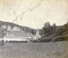 Grand Duché Du Luxembourg Prieuré De Marienthal, Ancienne Stereo Photo Stereoscope 1900 - Stereoscopic