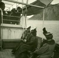 Italie Capri Vue Du Cap De L'Ile Ancienne Stereo Photo Stereoscope Possemiers 1910 - Stereoscopic
