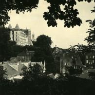 France Pyrenees Pau Panorama Ancienne Stereo Photo Stereoscope Possemiers 1910 - Stereoscopic