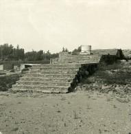 Italie Rome Mont Palatin Temple Ancienne Stereo Photo Stereoscope NPG 1900 - Stereoscopic