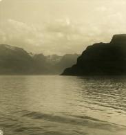 Norvege Westküste Ancienne Stereo Photo Stereoscope NPG 1900 - Stereoscopic
