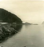 Norvege Virgohafen Reste De L Expedition Wellmanns Ancienne Stereo Photo Stereoscope NPG 1900 - Stereoscopic