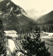 Italie Alpes Dolomites Carbonin & Le Monte Catini Ancienne Stereo Photo Stereoscope NPG 1900 - Photos Stéréoscopiques
