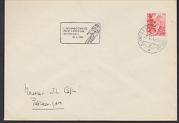 Switzerland 1949  Cover 1. Internationales Prof. Kriterium Rapperswil Ca Schweiz.Automobilbureau 29 V 49 (F3499) - Ciclismo