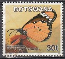 Botswana, 2007 - 30t Butterfly - Nr.845 Usato° - Botswana (1966-...)