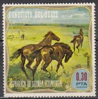 Guinea Equatoriale, 1974  - 0,30p Opening Of American West - MNH** - Guinea Equatoriale
