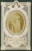France Religion Image Pieuse Canivet Pape Photo Albumine Sur Papier Dentelle 1870's - Images Religieuses