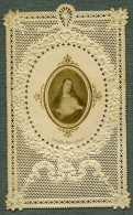 France Religion Image Pieuse Canivet Jesus Photo Albumine Sur Papier Dentelle 1870's