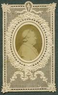 France Religion Image Pieuse Canivet Pape Photo Albumine Sur Papier Dentelle 1870's