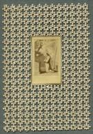 France Religion Image Pieuse Canivet Photo Albumine Sur Papier Dentelle 1870's - Images Religieuses