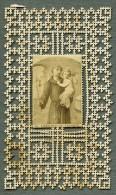 France Religion Image Pieuse Canivet St Antoine De Padoue Photo Albumine Sur Papier Dentelle 1870's