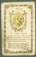 France Religion Image Pieuse Canivet Photo Albumine Sur Papier 4 Volets Bonamy 1880 - Devotion Images