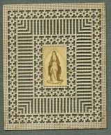 France Religion Image Pieuse Canivet Vierge Photo Albumine Sur Papier Dentelle 1870's